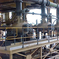 Self-Cleaning Strainers in Material Plant